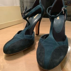 Women's MaxStudio Winnipeg Teal Heels - 8